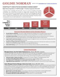 Infographic Networking Professional Resume Sample<br />All material is copyrighted by The Writing Guru.